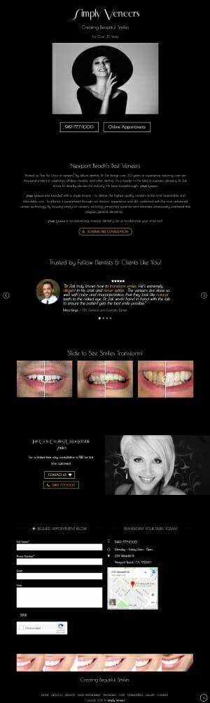 High-Value-Dental-Marketing-Landing-Page
