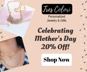 Mother's Day 20% Off Display Ads