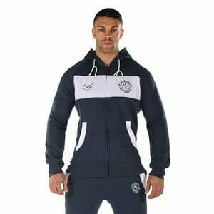 Person wearing the Gymshark Luxe Tracksuit