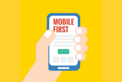 mobile first approach graphic