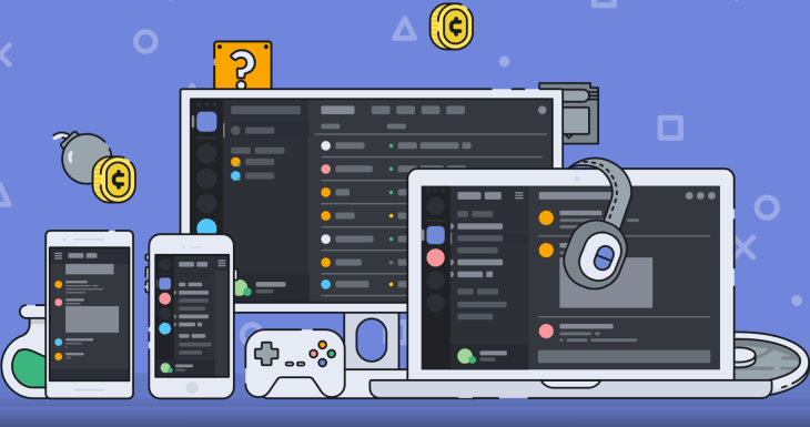graphic of discord on multiple devices