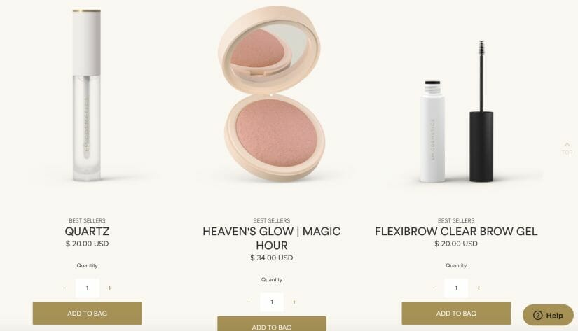 prices of em cosmetics products