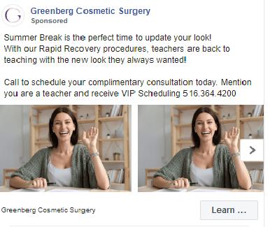 FB Carousel example