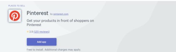 Pinterest Using Shopify