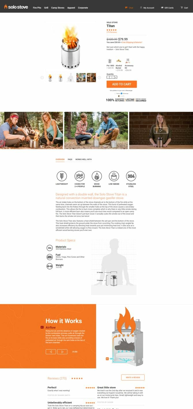 seo for shopify ecommerce product page done right