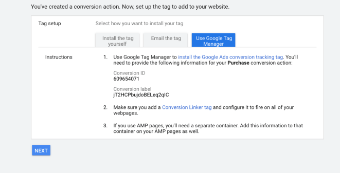Adding a Tag to a Site
