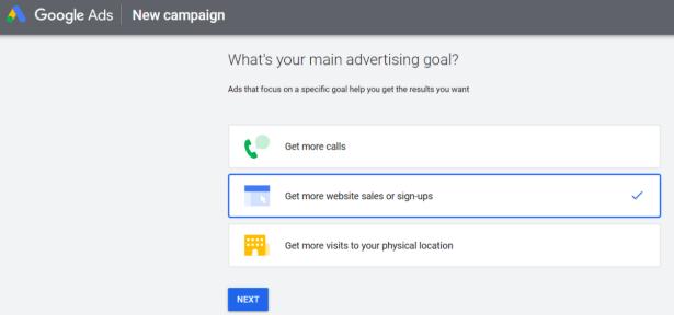 Advertising Goal