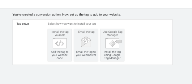 Creating a Tag for GTM