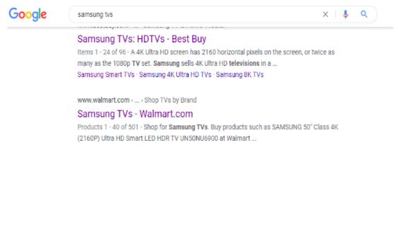 samsung google search