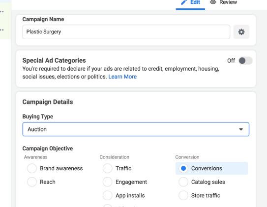 Campaign Details