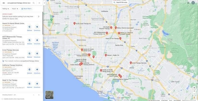 Google Map for Google my business