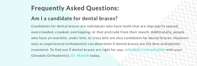 Internal Link Orthodontist Example
