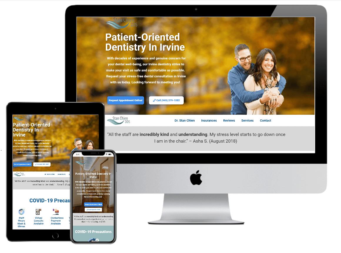 Irvine web design