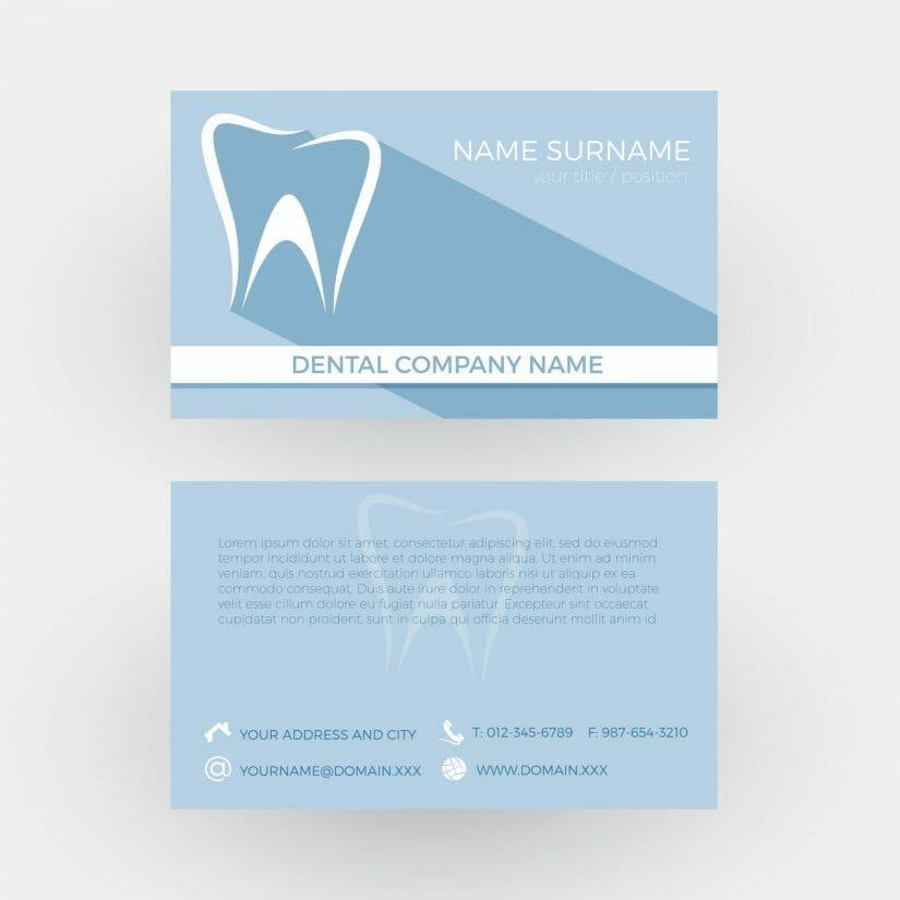 Creative Dental Business Cards