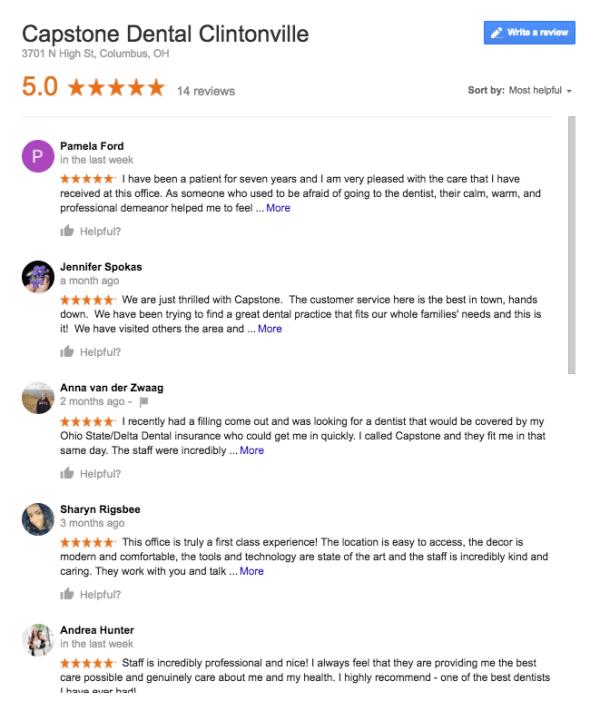 dental email marketing customer reviews