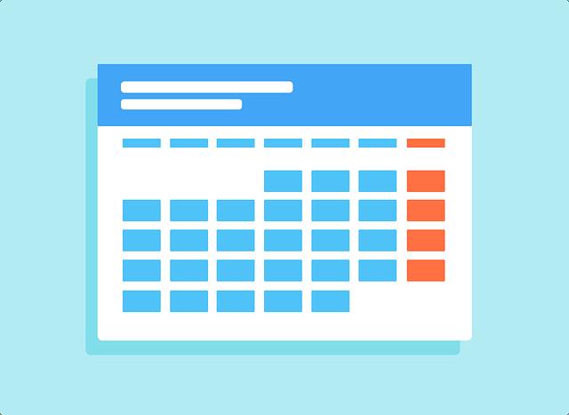 dental social media calendar