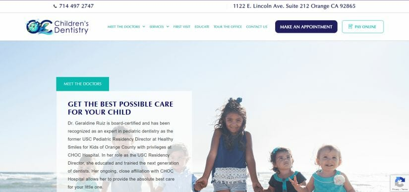 dentist get new patients dental website