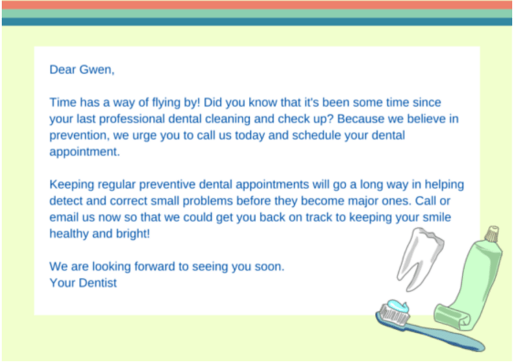 dentist get new patients email marketing