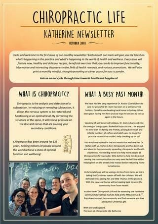 growing your chiropractic business email newsletter