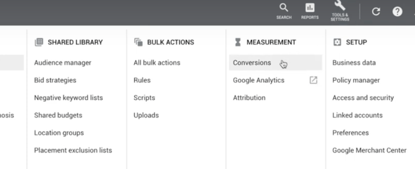 for google ads for real estate agents measure converisons