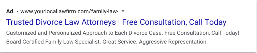 google ads for law firm marketing desktop preview