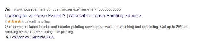 house painter ppc desktop preview