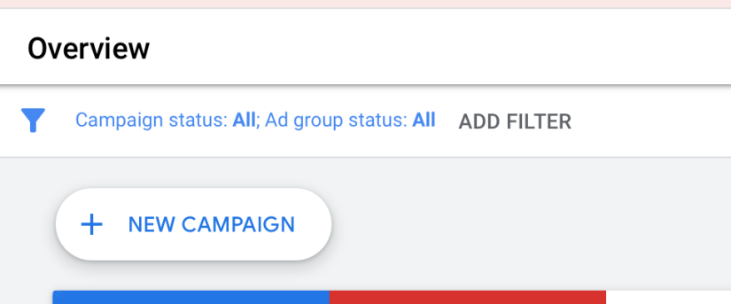 select new campaign