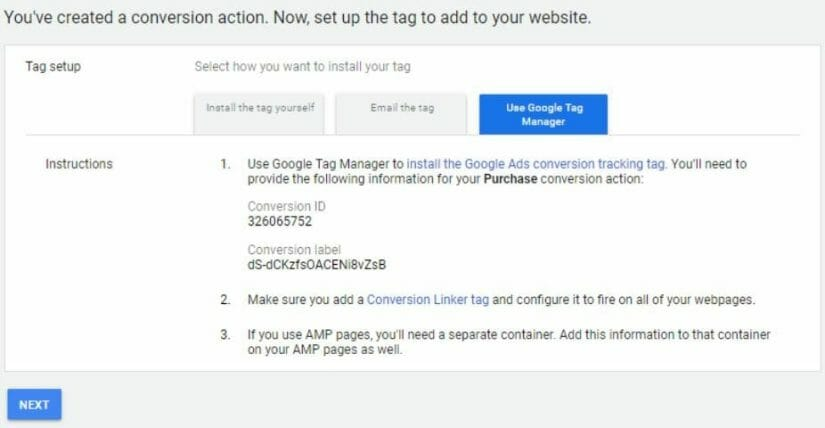 google ad tag manager home inspectors