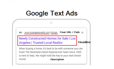 AdWords Text ads Preview