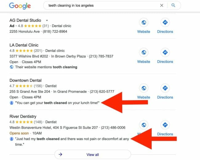 keywords help boost your clinics ranking